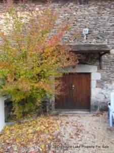 small doors to barn hanger #dordognelakeproperty