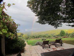 Over the rainbow #dordognelakeproperty