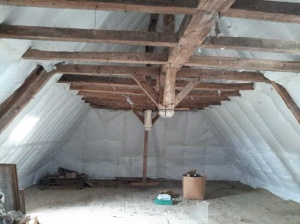 Fully Insulated Loft area 85 sq metres
